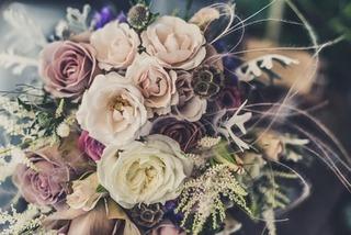 Dekoracje Ślubne. Bukiet Kwiatów Ślubnych